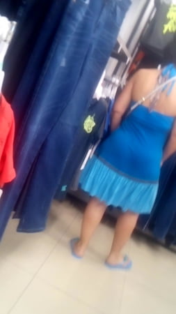 beautiful milf with big ass and tight dress in monterrey