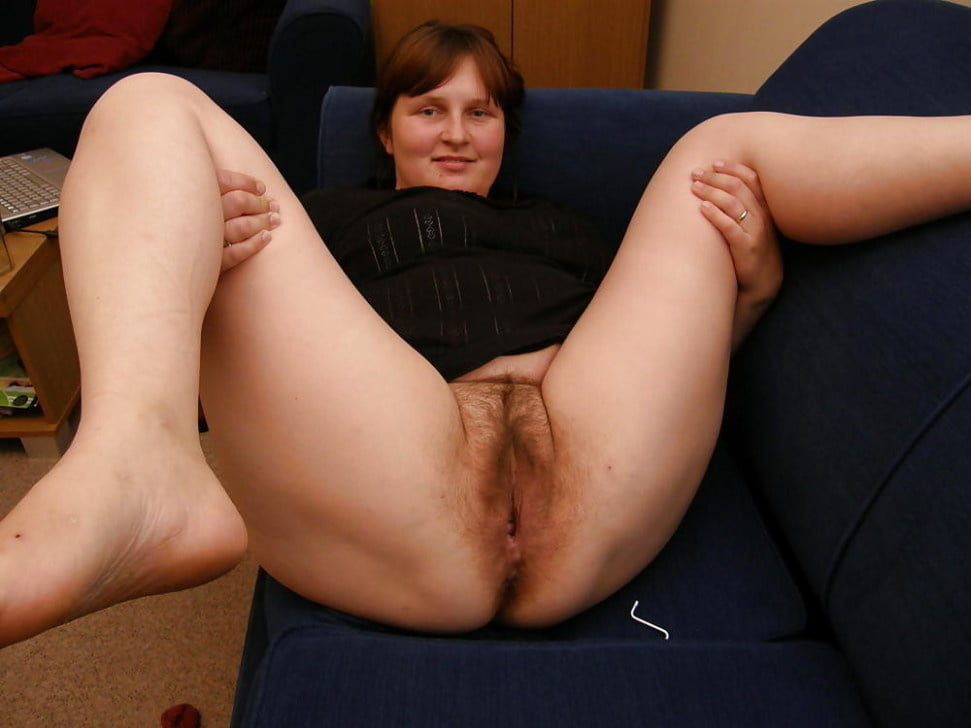 Vintage pics of woman spreading legs and showing hairy pussy
