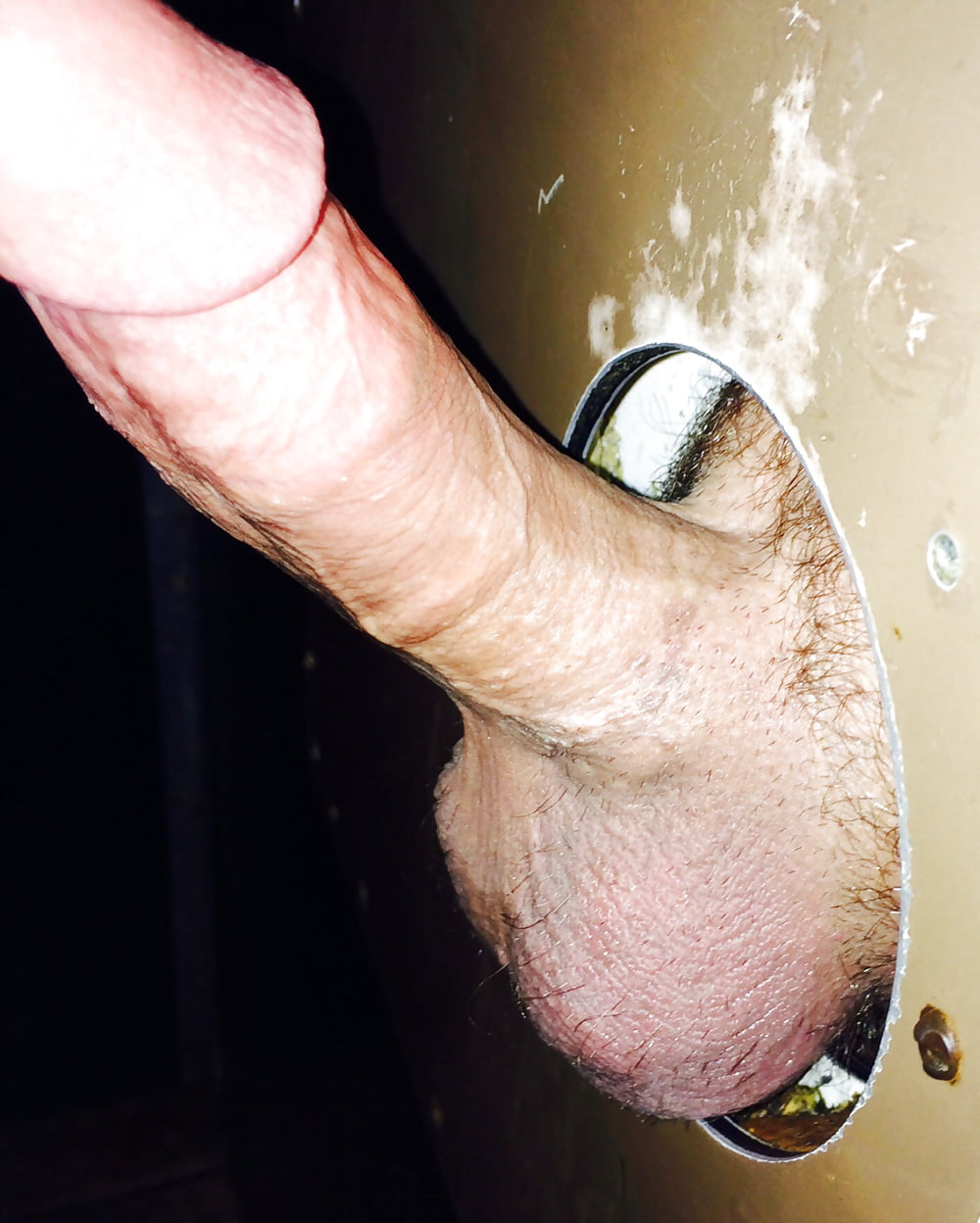 Glory hole in prison