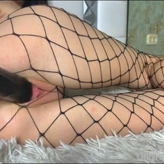 Schoolgirl Fucks Herself With A Big Black Cock