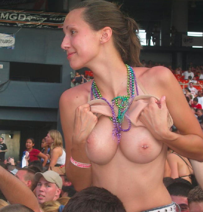 Concerts girls flashing tits groped gif