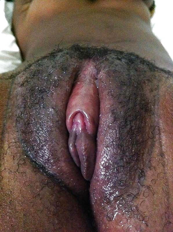 Wet black puzzy