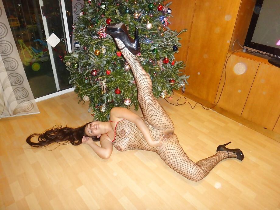 Wife naked christmas