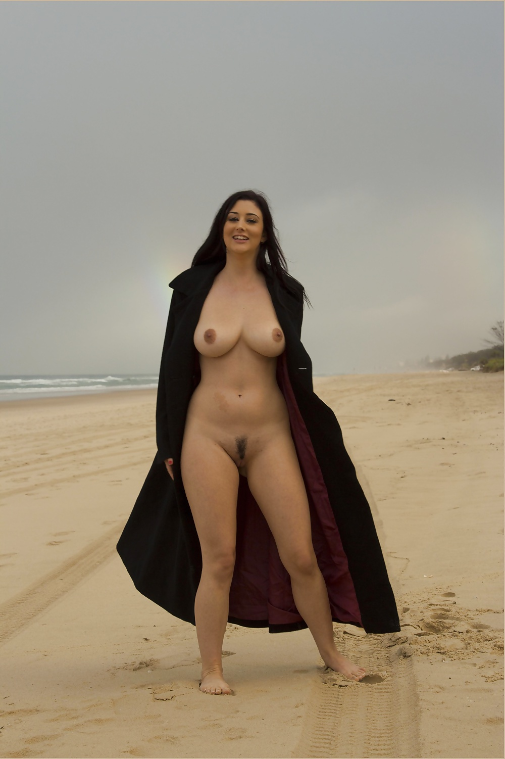Arab girl naked in public