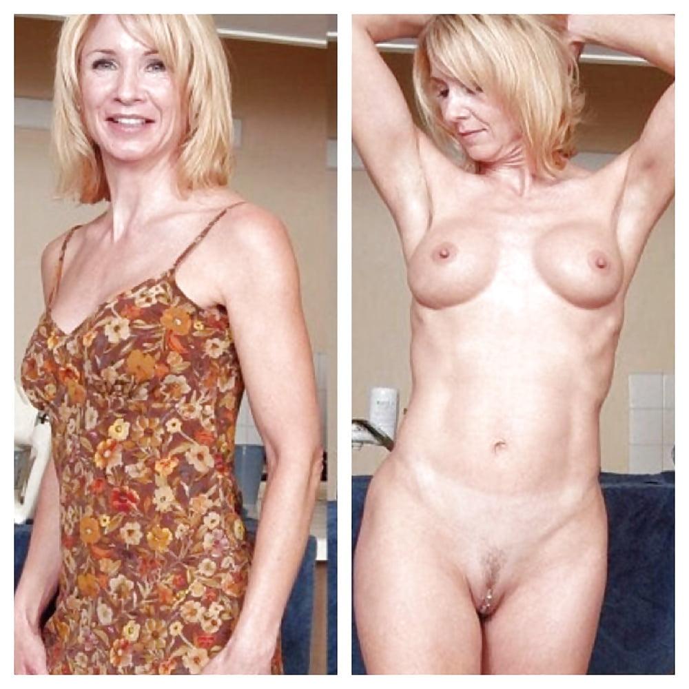 Older women caught naked-7403