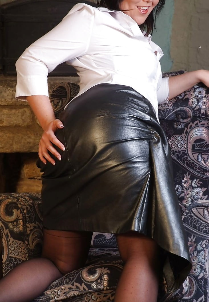 Leather skirt gallery movies milf — 1