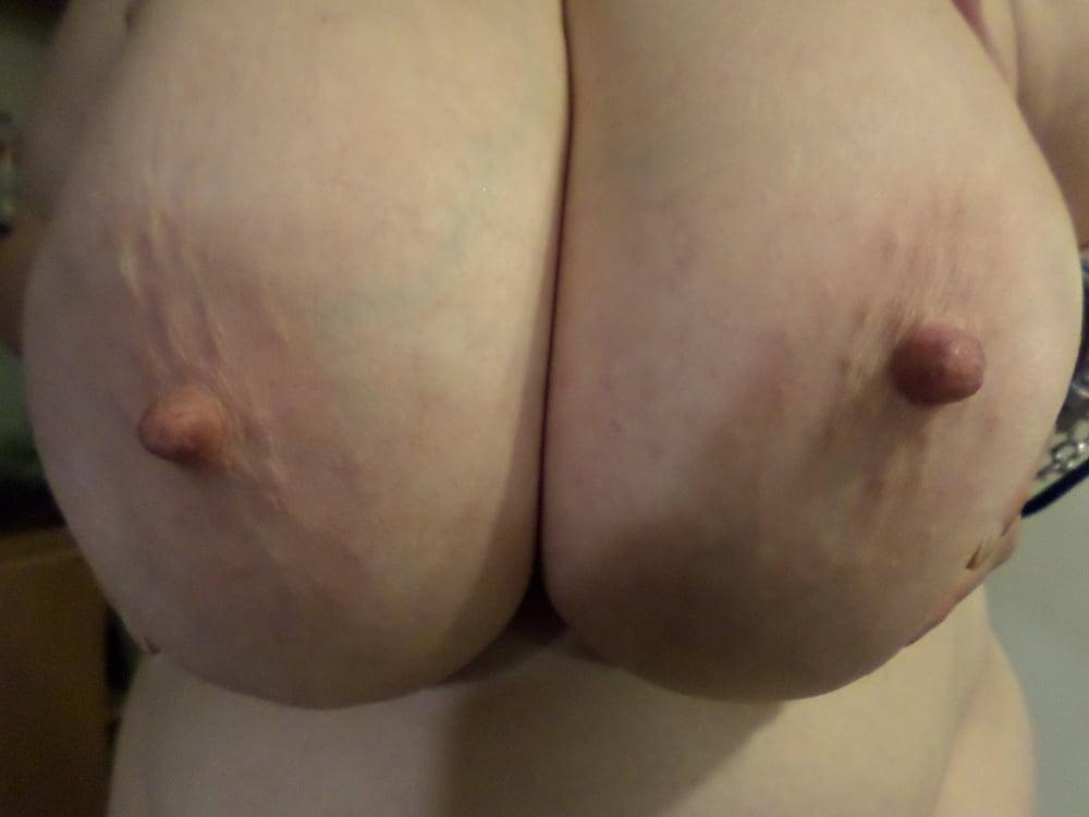 Funbags huge saggy sexy natural big breast