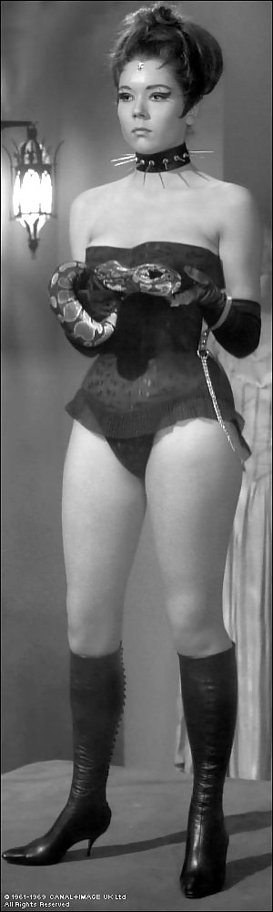 Diana rigg as emma peel nude have