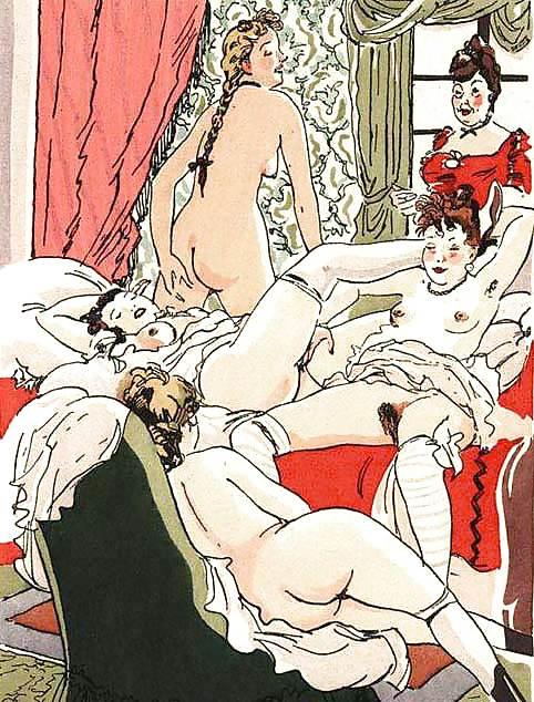 Пизды предметами иллюстрации к старым порно журналам доктора
