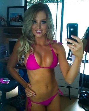 Sexy white girl boobs