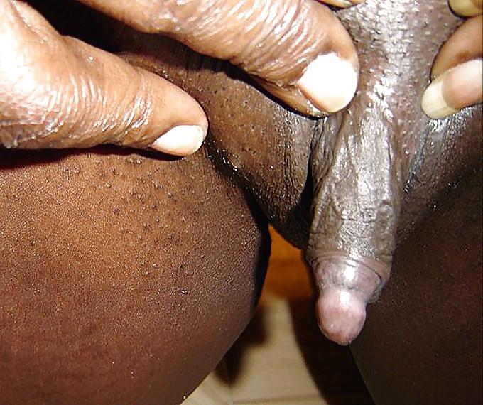 Black pussy big clit
