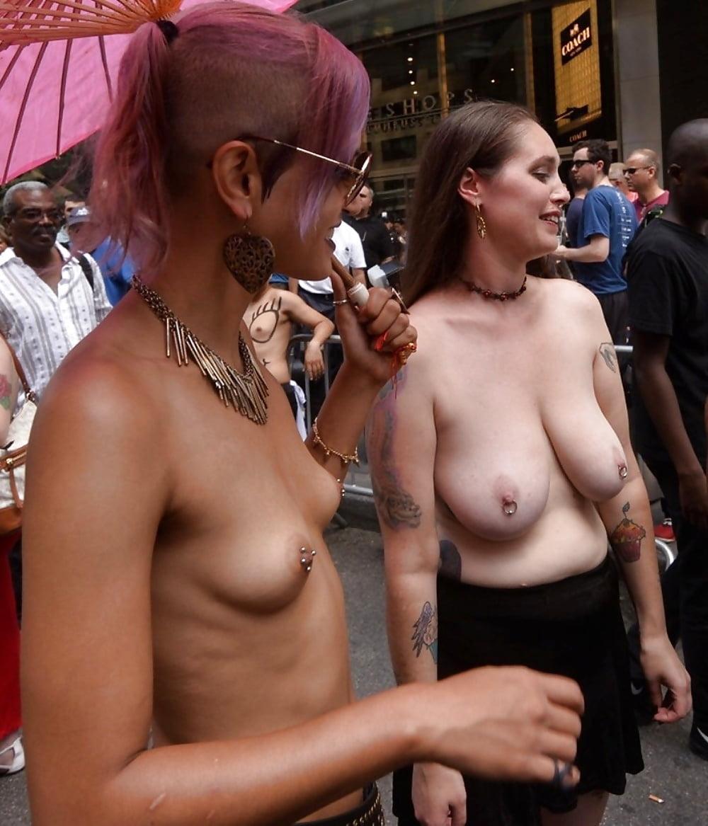 Nude In San Francisco Does The Folsom Street Fair