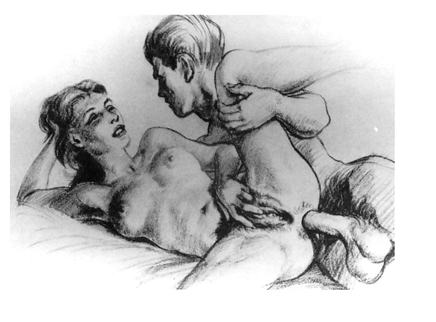 Old cartoon sex drawings
