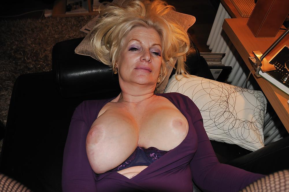 German blonde granny porn
