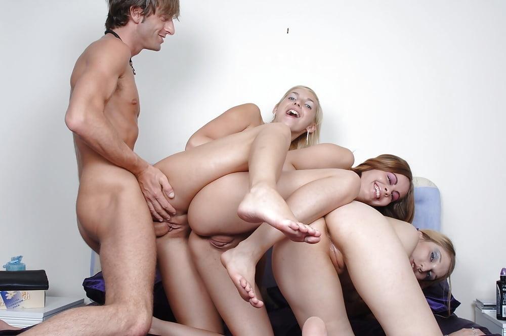 One Lucky Guy Fucking Multiple Girl