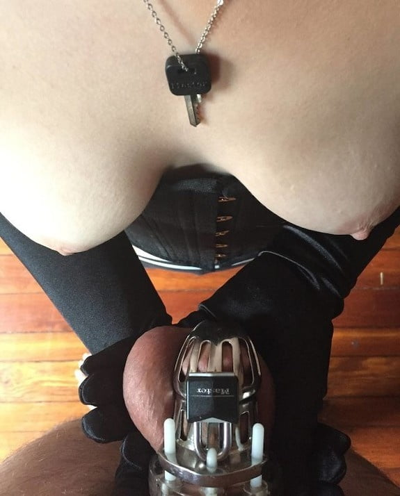 Looking for Mistress to treat me like this, chastity, sissy - 65 Pics