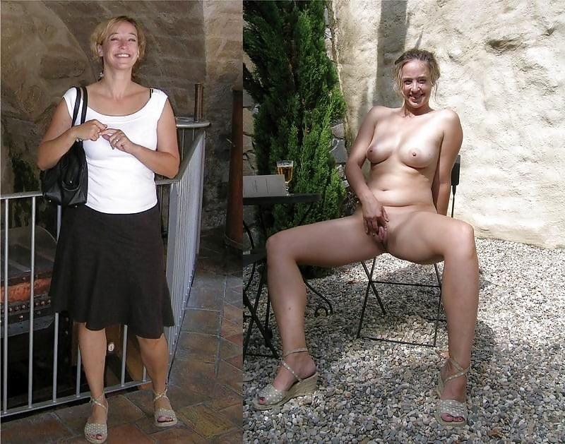 Naked women mature with clothed men #2