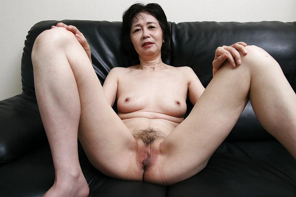 Granny asian creampie