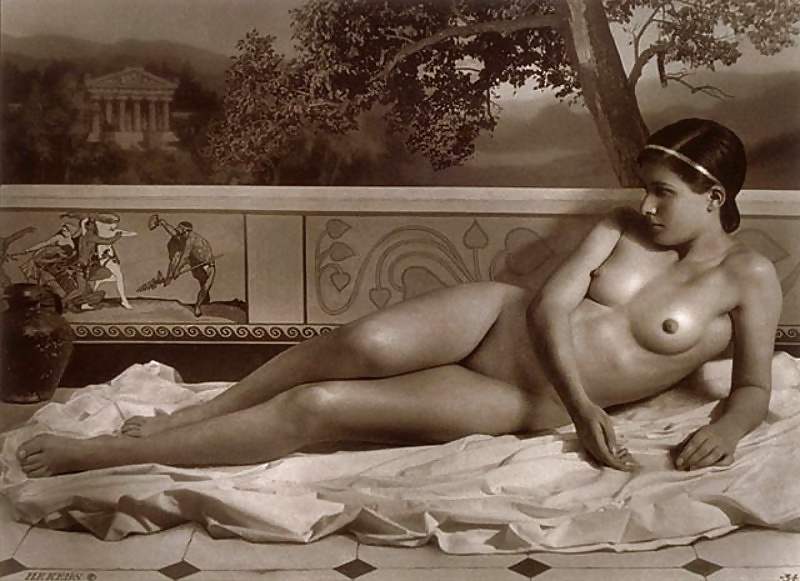 Vintage nude ladies