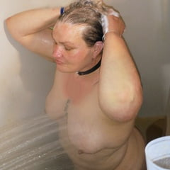 BBW Caught In The Shower Getting All WET!