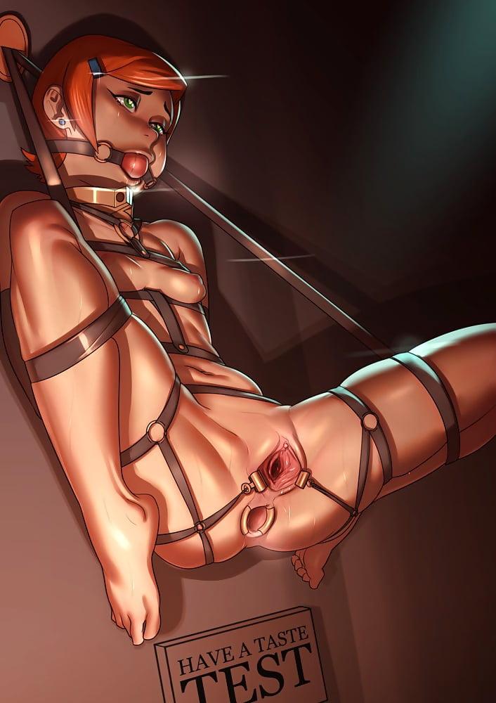 Cgi bondage