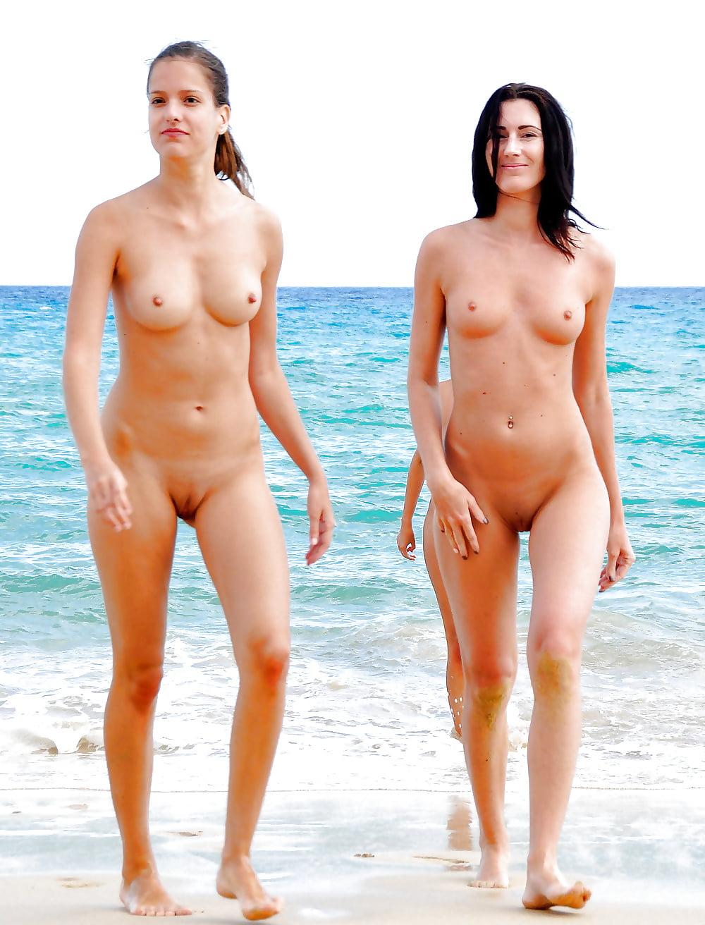 Большая пляж где можно ходить голыми красотки