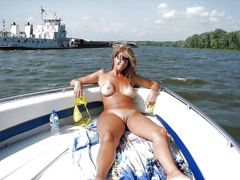 See and save as me and milf mommy on boat porn pict