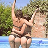 Incredible Argentinian Bubble Butts Teens at the Pool