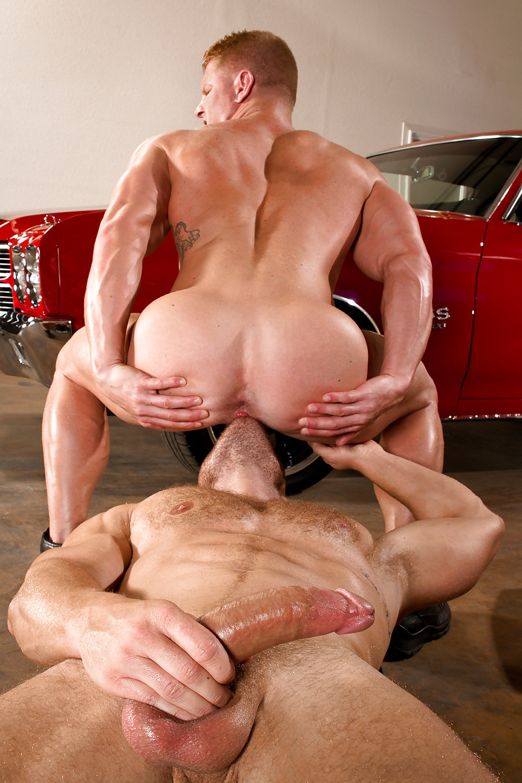 Bodybuilder Porn Muscle Gay Fuck