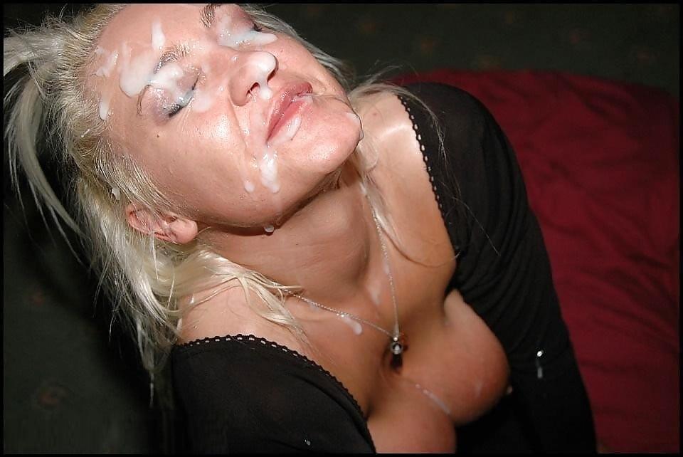 Секс простушками порно фото спермы на лицах зрелых спермой киске