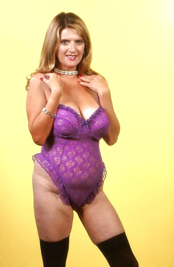 Hairy mature lingerie-3034