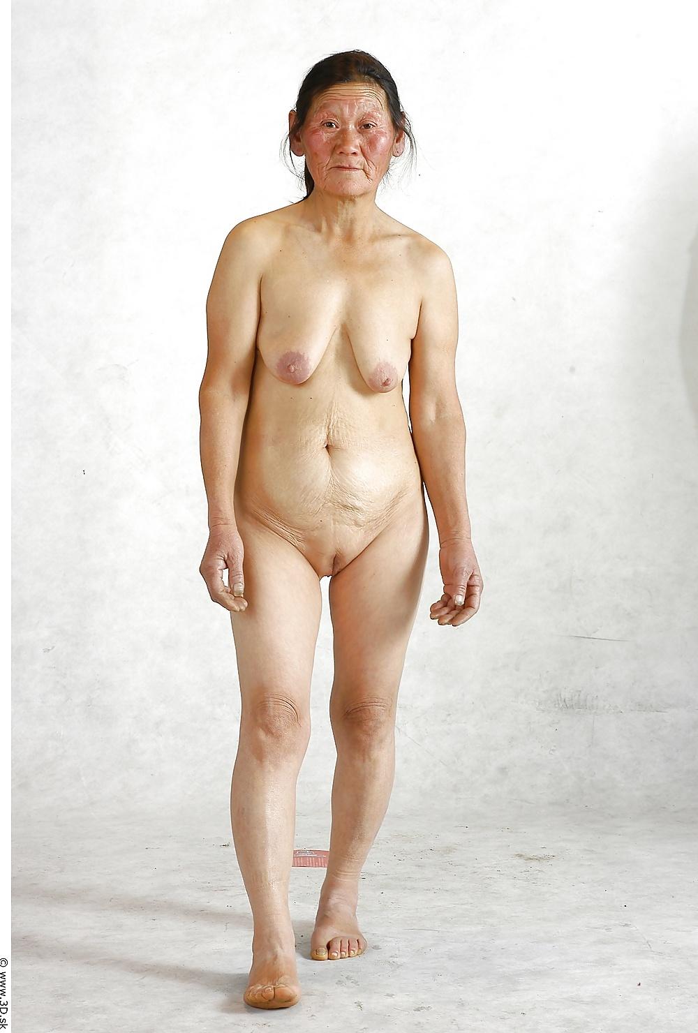 Naked naked old