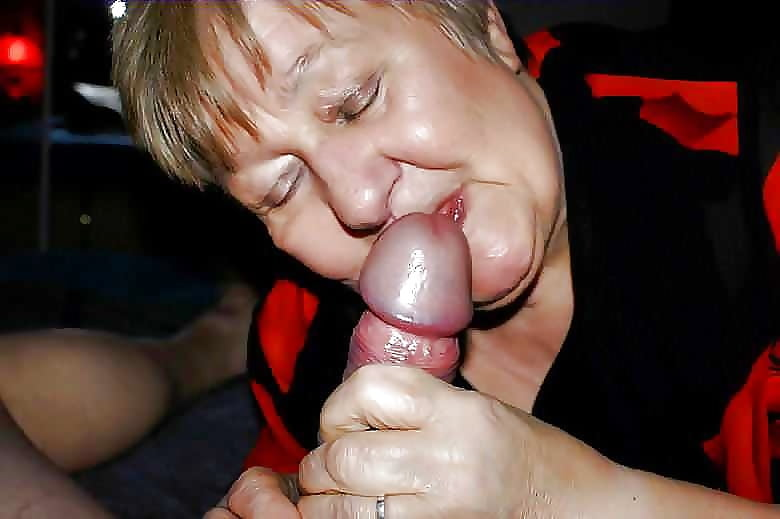 Granny she loves to suck my dick