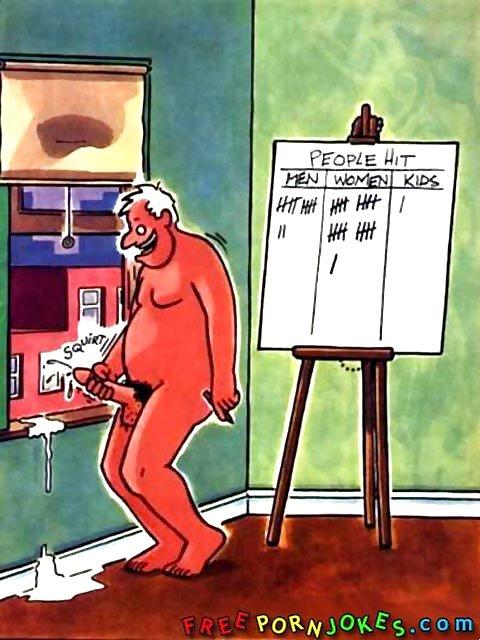 карикатура на мастурбацию тихо мирно