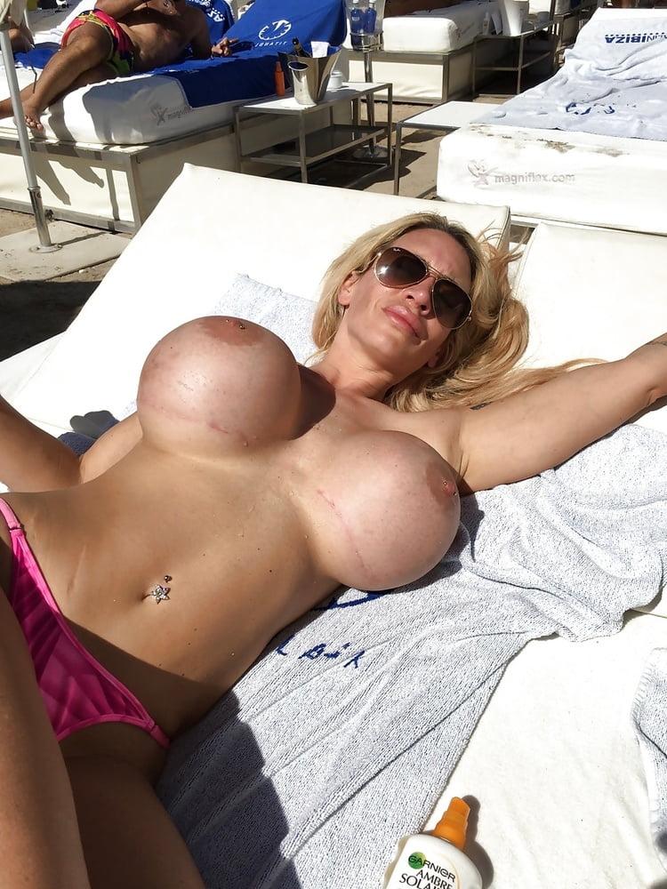 Mature pic small tit woman