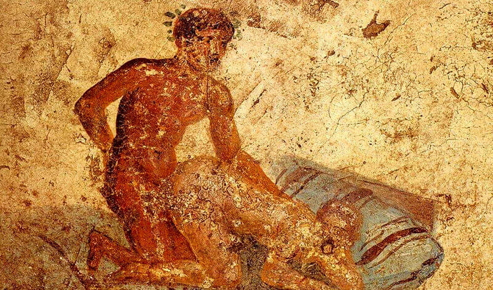 Pompeii hedonism personified