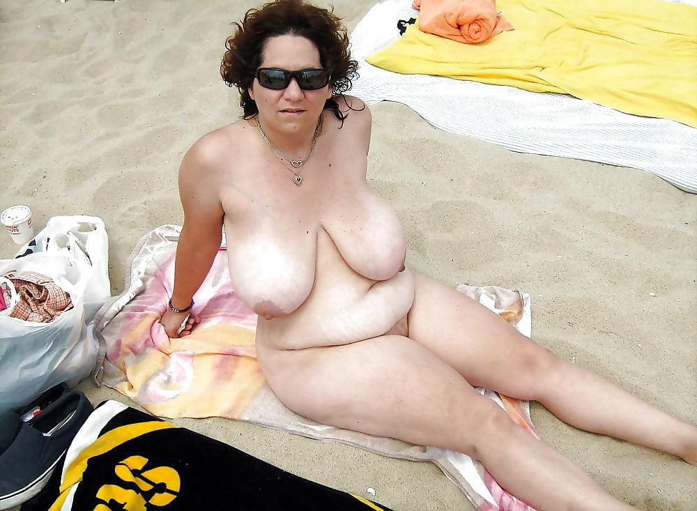 Big Tits Mature On Beach Luxuretv 1