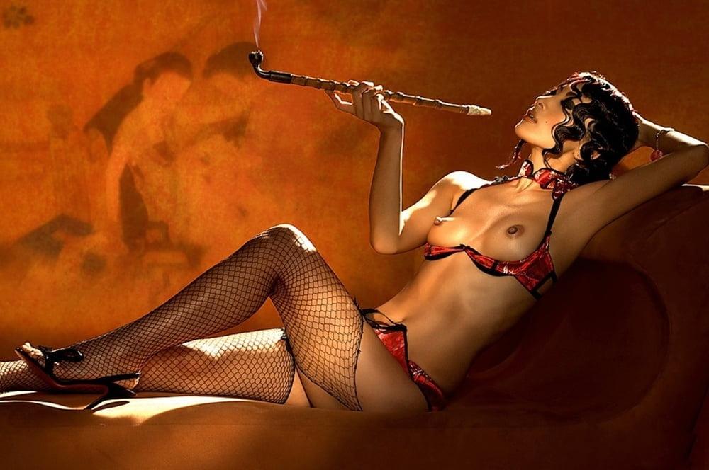 Bai ling nude scene