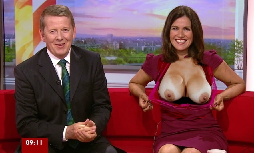 British tv presenters naked