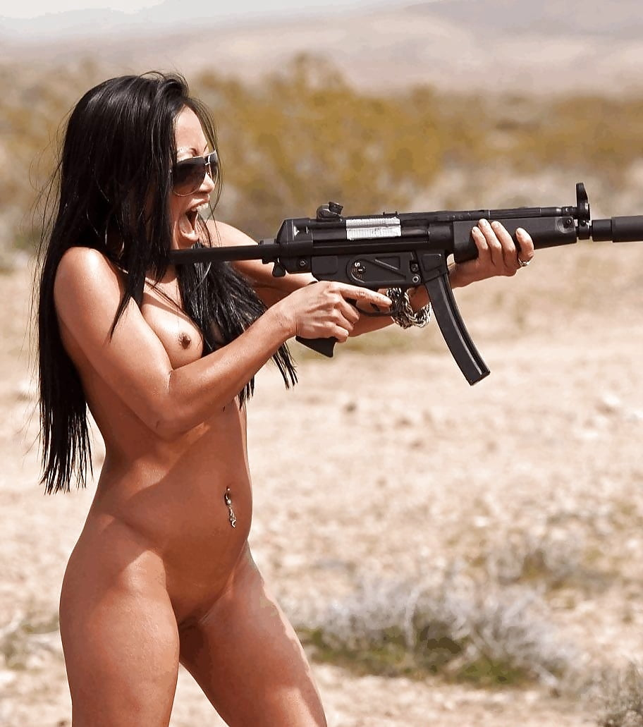 Military women with guns nude, celebrities naked by name