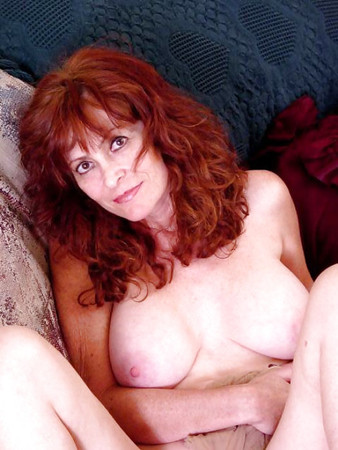 Glasses redhead mature librarian wife