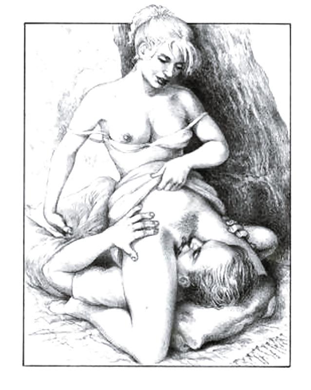 Секс Рисунки Кунилингус