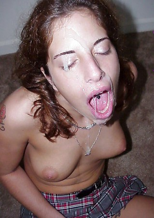 great amateur facial cum loads