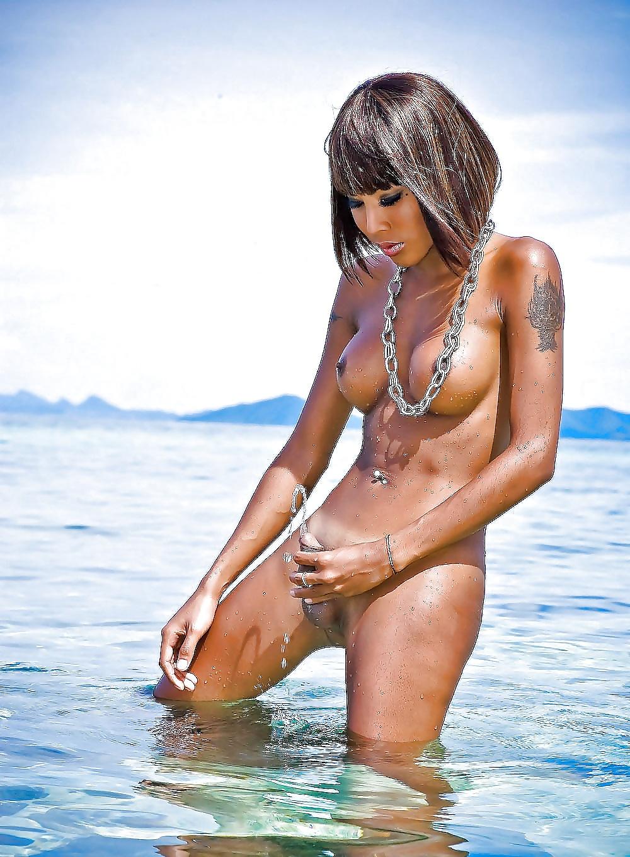 домашний секс транссексуалки на пляже таит себе много