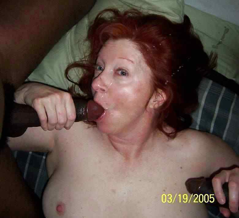 Amateur mature interracial porn