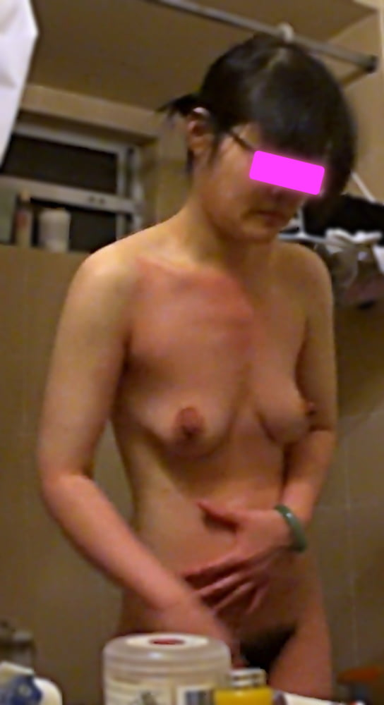 My Mid-Age Mature Asian Wife - Before, During, After Shower - 16 Pics
