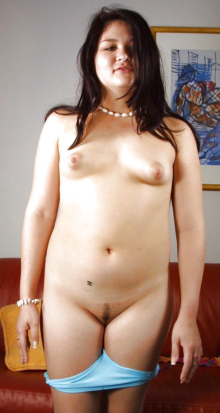 Chubby girl small tits big ass