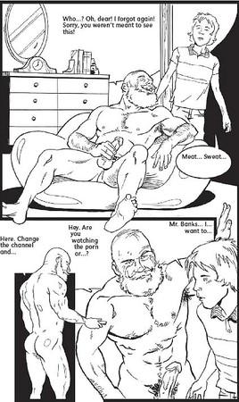 Gay erotic art drawings