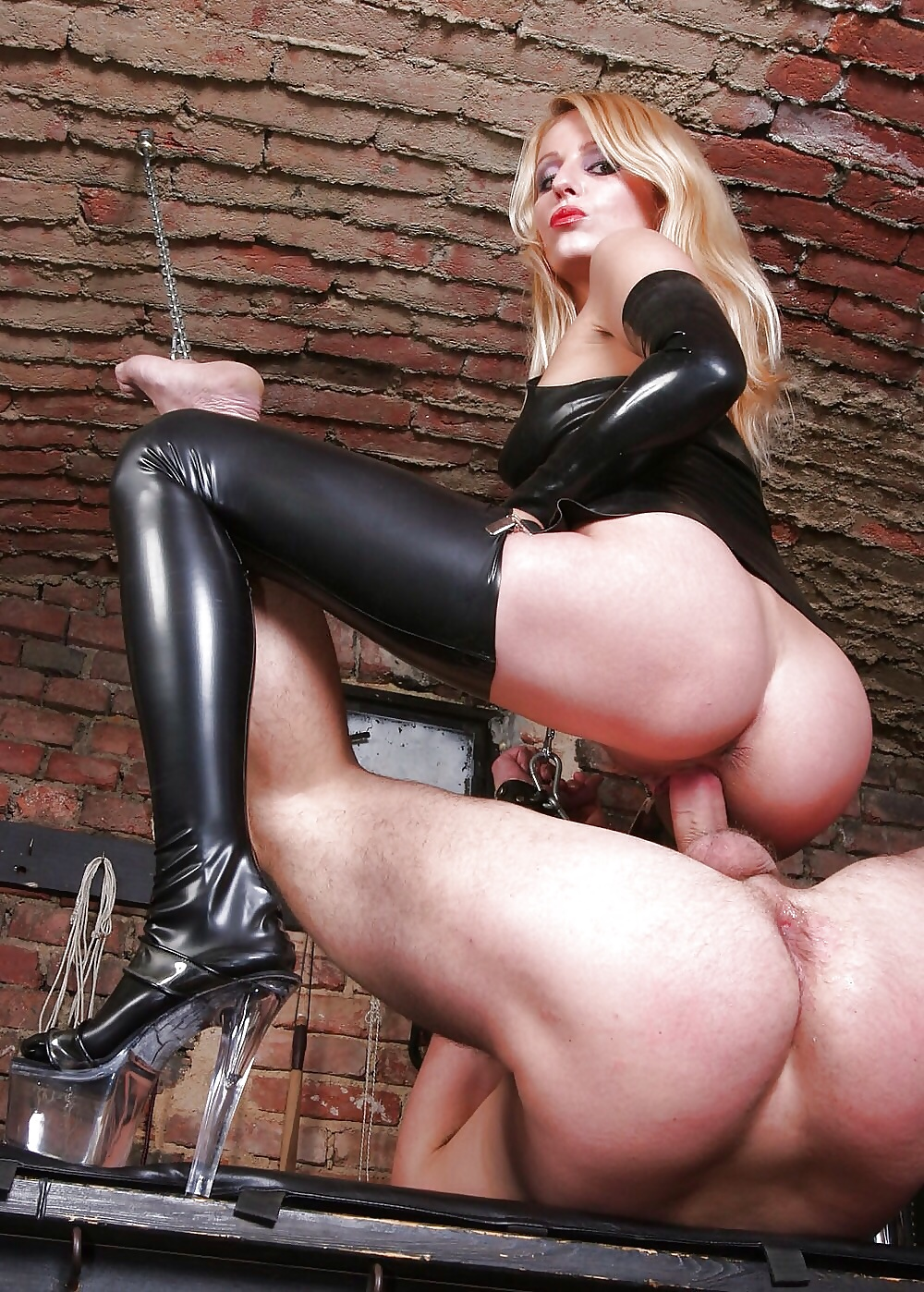Leather domination free porn