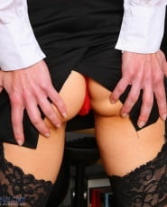 Stockings of secretaries- 121 Pics